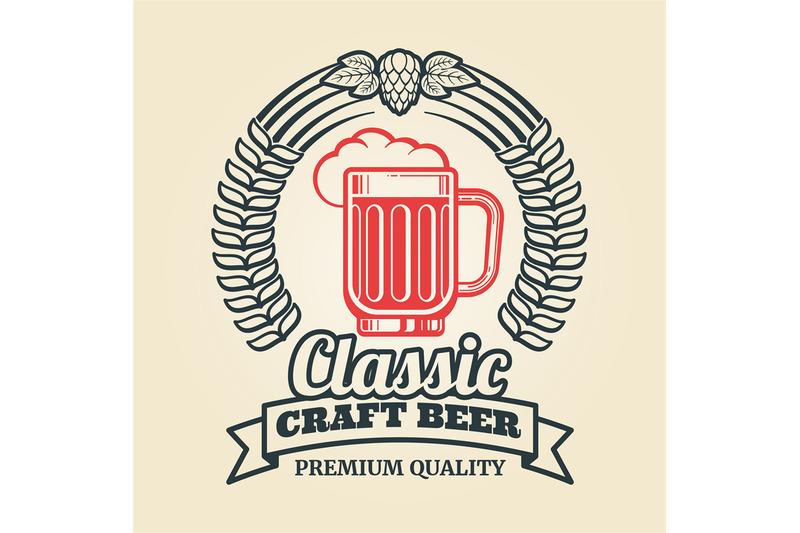 vintage-beer-label-with-glass-hop-wreath