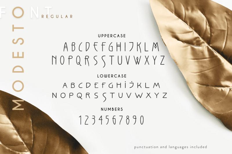 modesto-handwritten-art-deco-font