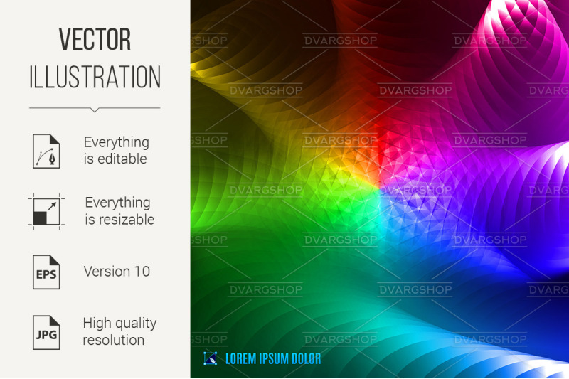 abstract-spectrum-fractal-background