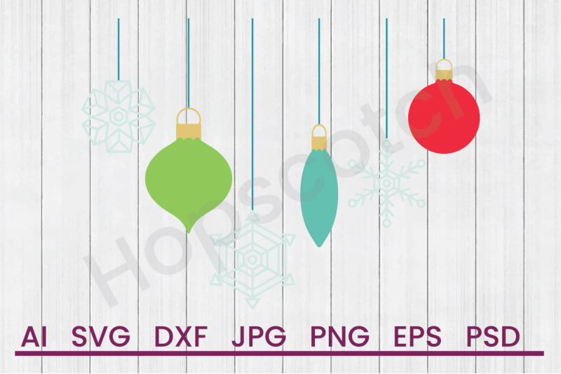 holiday-ornaments-svg-file-dxf-file