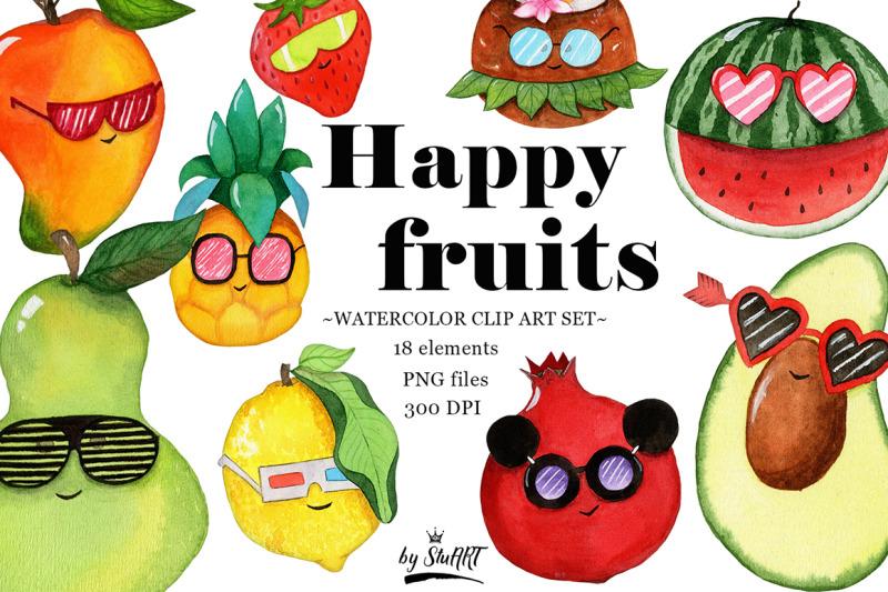 watercolor-fruit-clipart