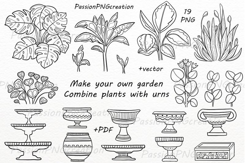 hand-drawn-garden-plants-clipart