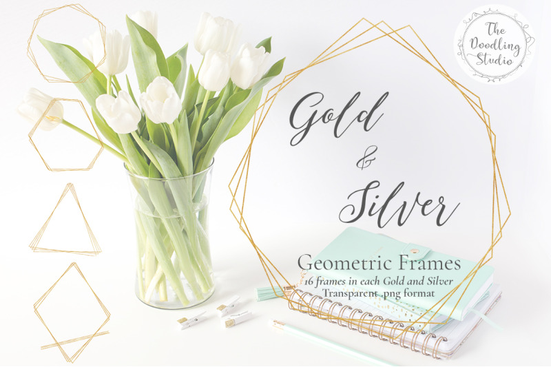 gold-amp-silver-geometric-frames