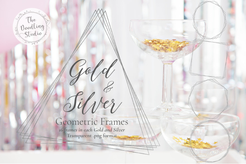 gold-amp-silver-geometric-frames