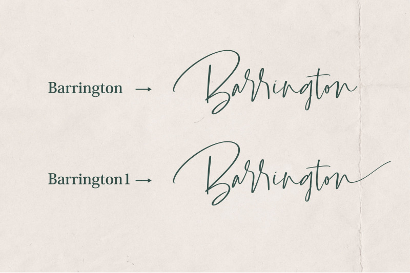 barrington-font