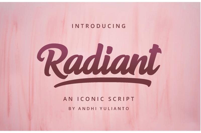 radiant-iconic-script