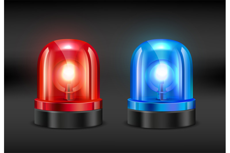 police-siren-vector-realistic-pictures-of-fire-or-police-siren
