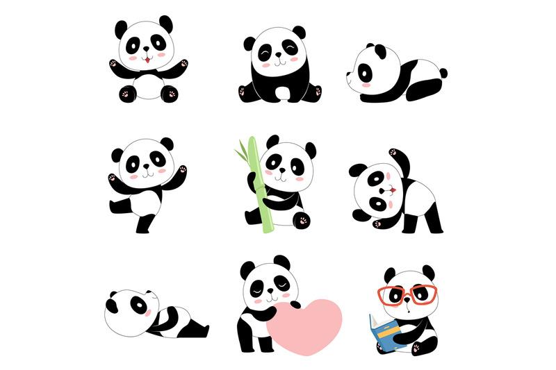 cute-panda-characters-chinese-bear-newborn-happy-pandas-toy-vector-ma