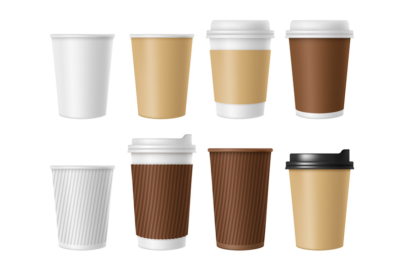 disposable-coffee-cup-blank-vector-template-of-hot-coffee-white-paper