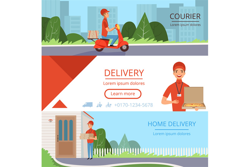 pizza-delivery-banners-fast-food-courier-order-moving-mail-shipping-c