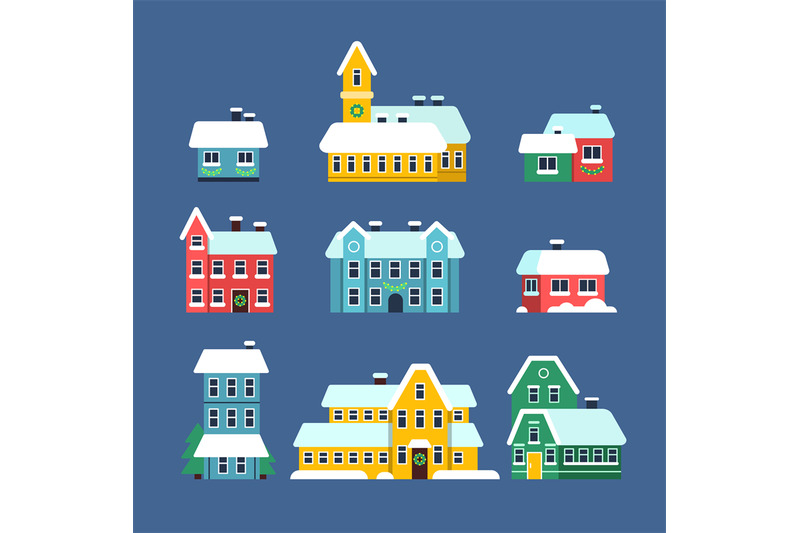 snow-roof-houses-cold-season-urban-snowy-city-snowstorm-with-snowflak
