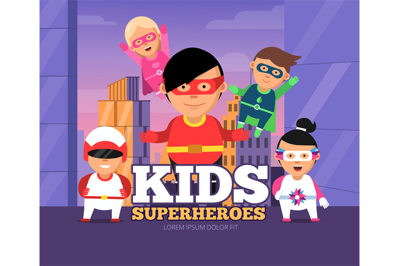 city-kids-heroes-urban-landscape-with-childrens-male-and-female-super