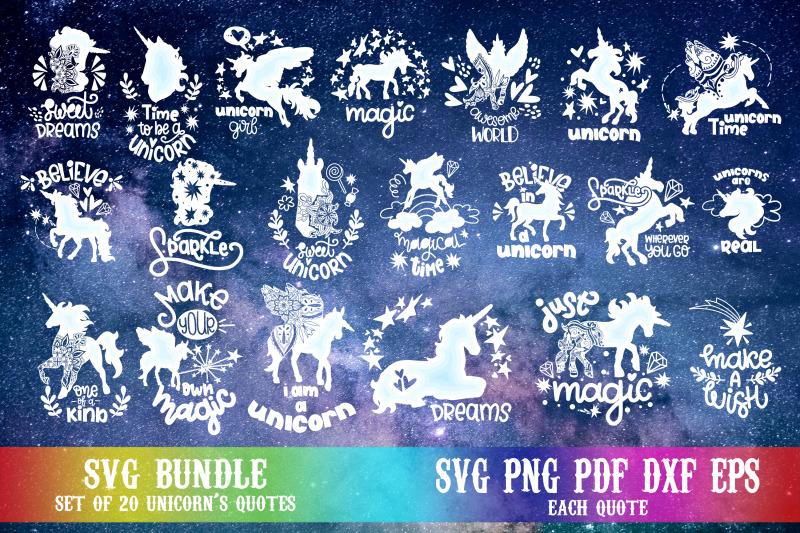 unicorn-svg-bundle-hand-lettered-quotes-lettering-magic