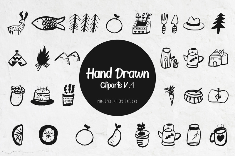 45-handdrawn-miscellaneous-cliparts-ver-4