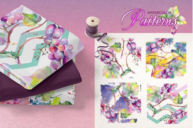 grapes-watercolor-png