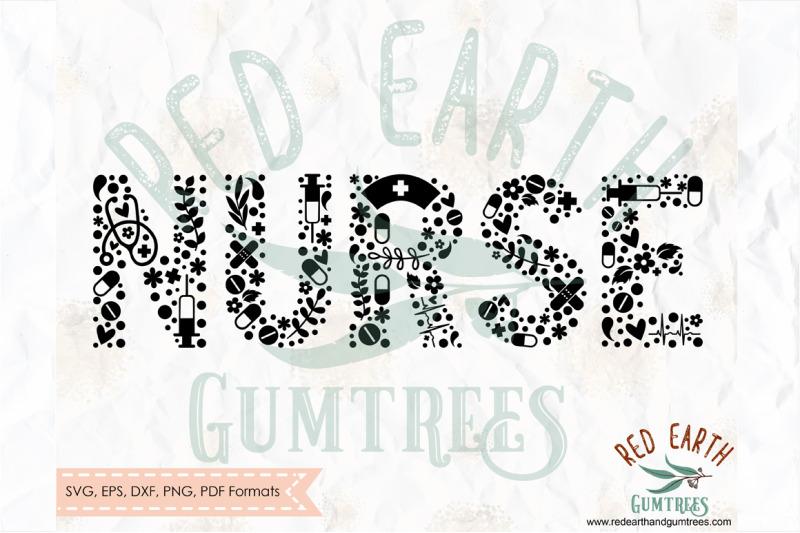 nurse-floral-nurse-letters-nurse-decal-svg-png-eps-dxf-pdf