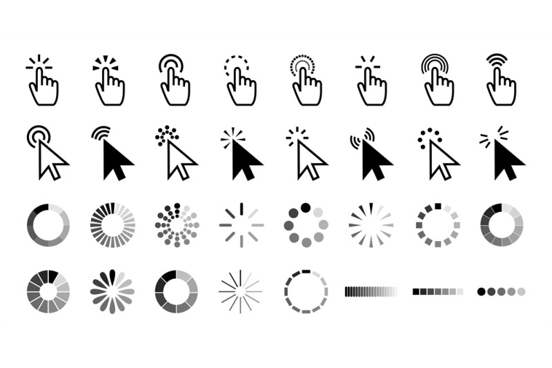 pointer-click-icon-clicking-cursor-pointing-hand-clicks-and-waiting