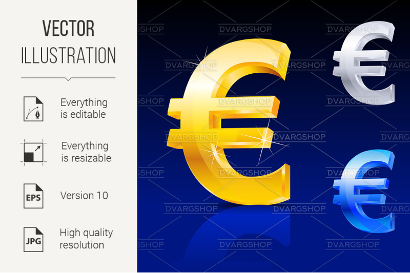 abstract-euro-sign
