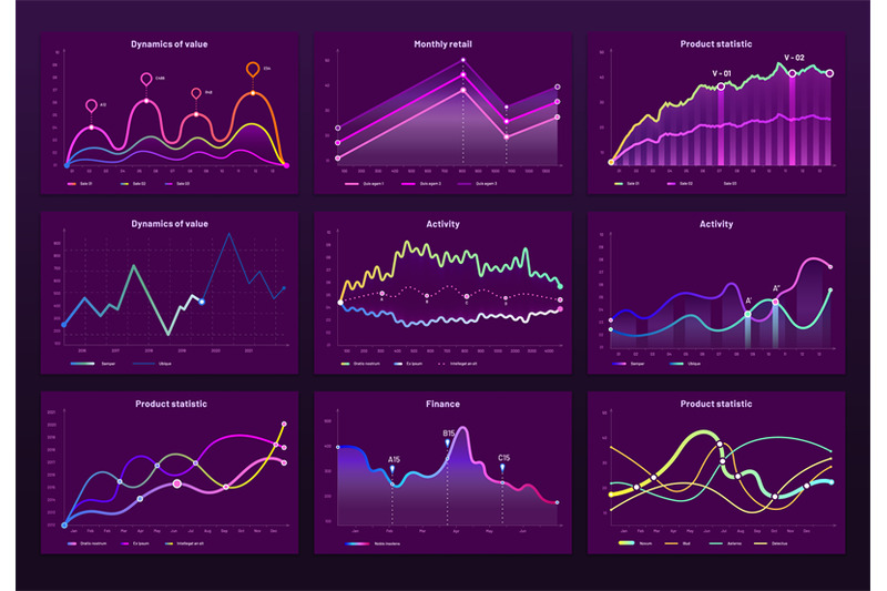 abstract-data-charts-statistic-graphs-finance-line-chart-and-marketi