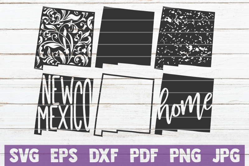 new-mexico-state-svg-cut-files