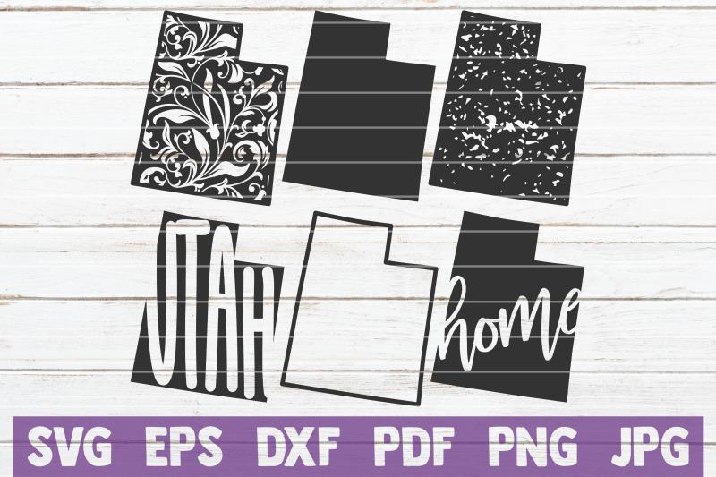 utah-state-svg-cut-files