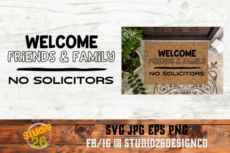 welcome-no-solicitors-svg-png-eps