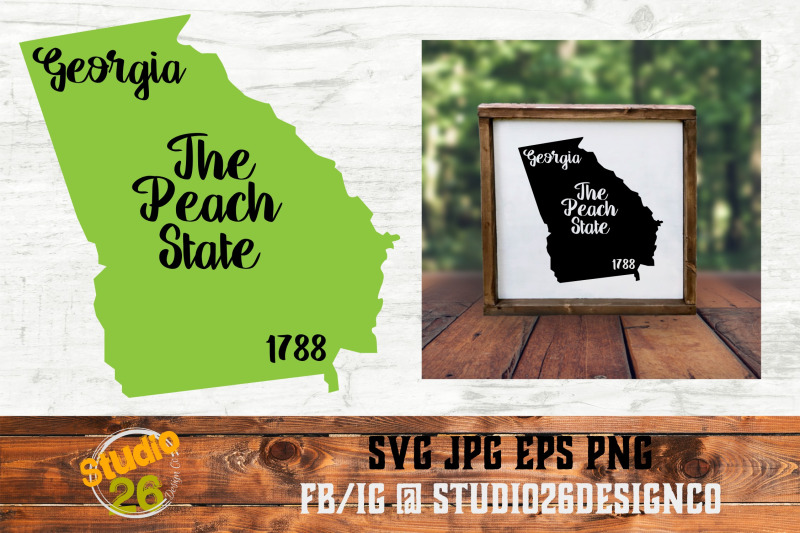 georgia-state-nickname-amp-est-year-2-files-svg-png-eps