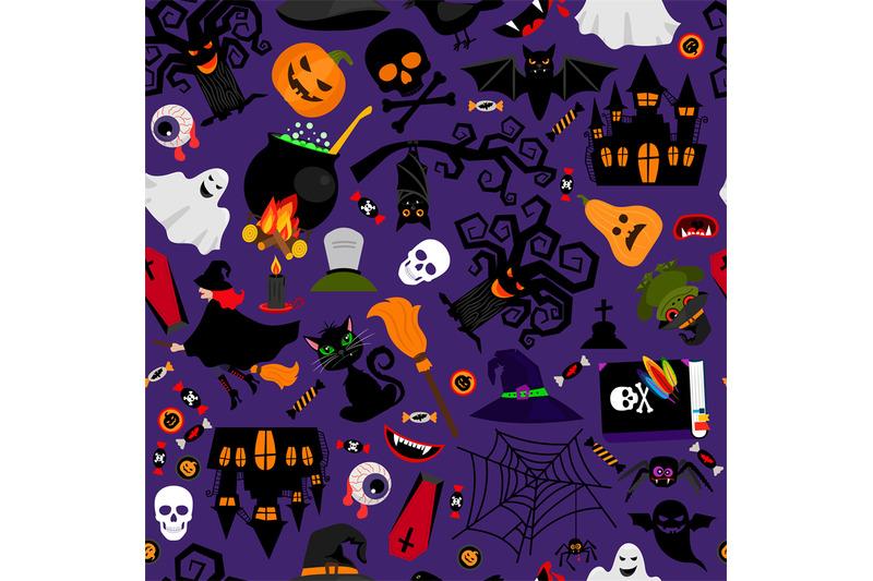 vector-seamless-halloween-pattern