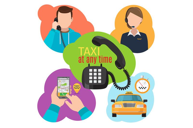 taxi-service-illustration