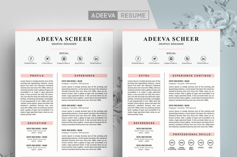 simple-resume-template-scheer