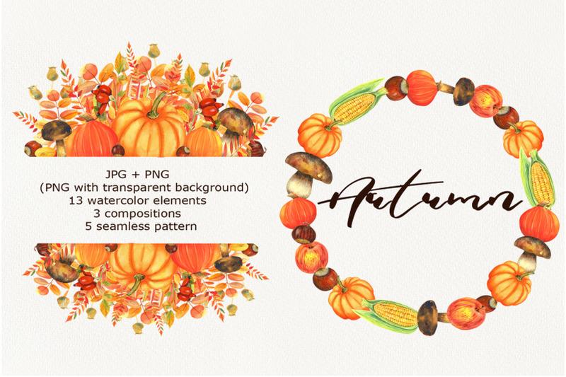 watercolor-autumn