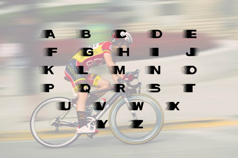 speed-dispersion-font
