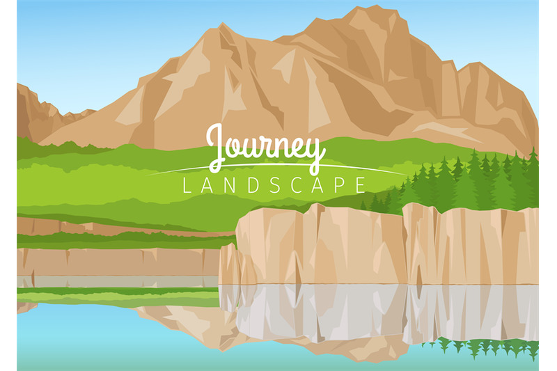 journey-landscape-with-mountains-background