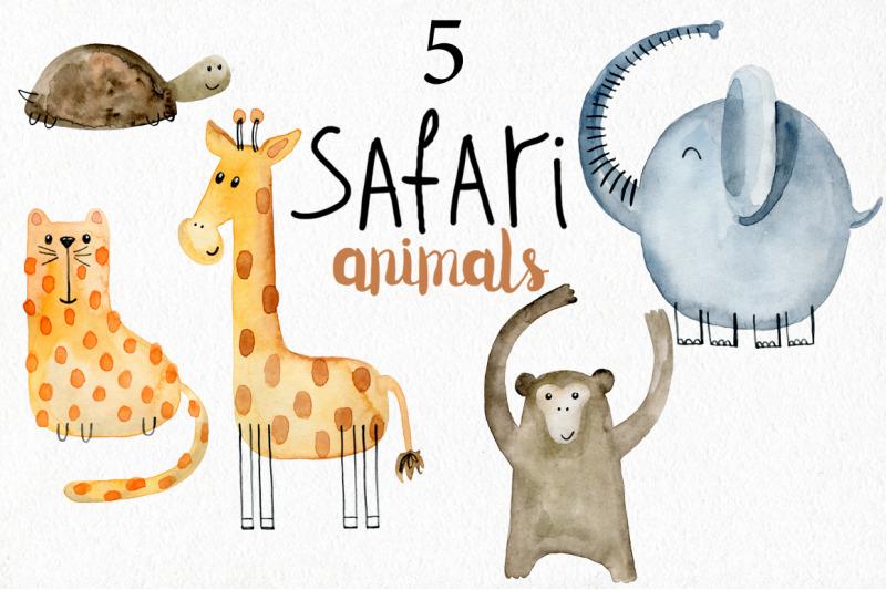 safari-animals-kit