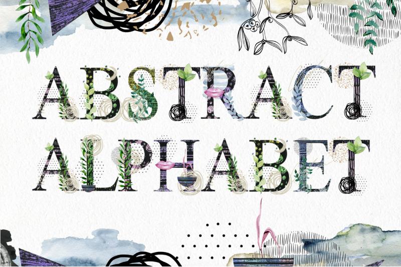 abstract-alphabet-clipart