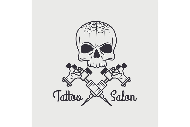 retro-tattooing-shop-emblem-with-skull