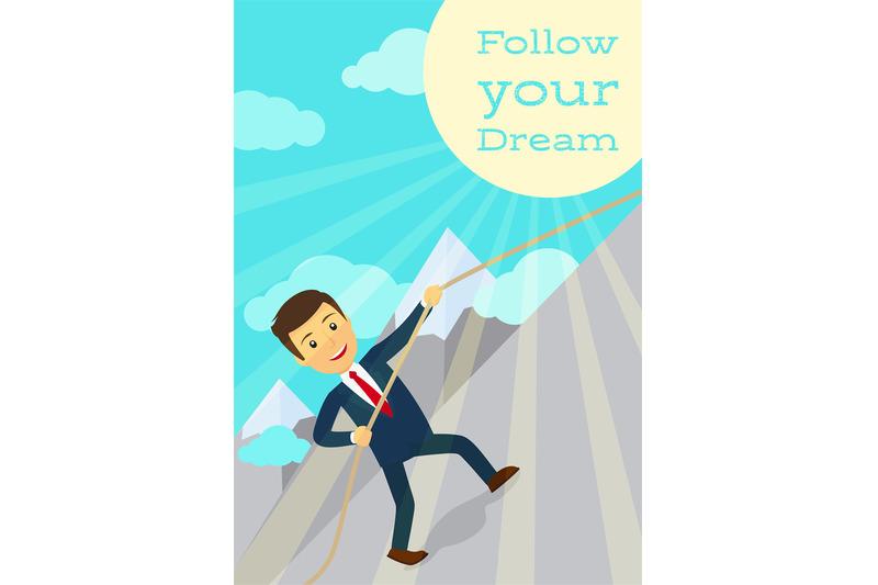 follow-your-dream-motivation-poster