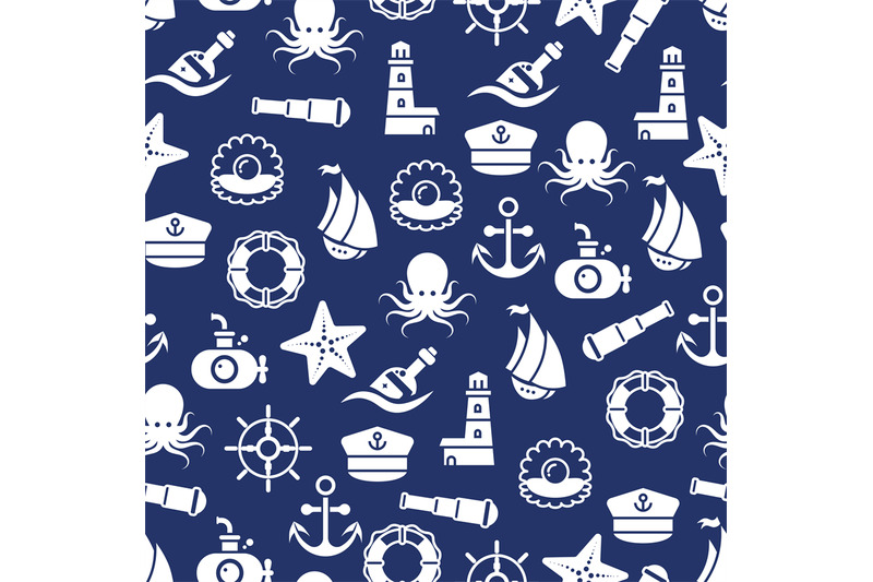 ocean-or-sea-seamless-pattern-with-anchor-boat-bottle-shell-octopus