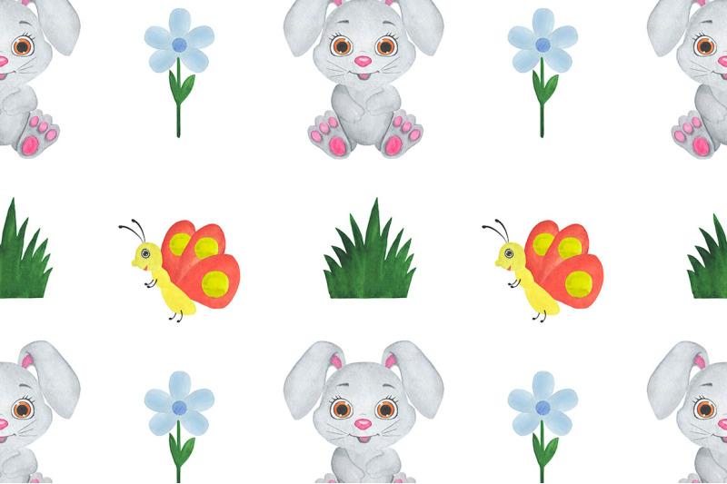 animals-watercolor-childish-illustration