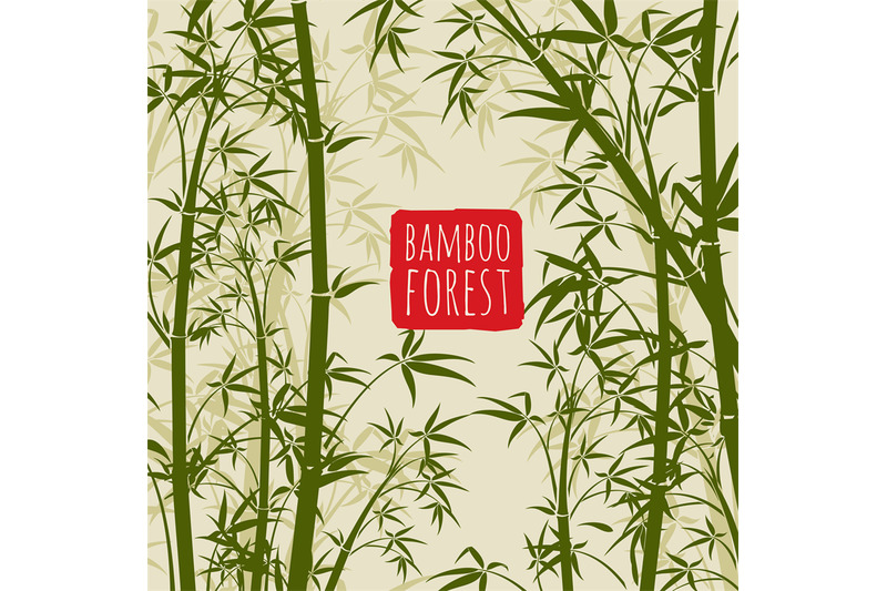 bamboo-rain-forest-vector-wallpaper-in-japanese-and-chinese-art-style