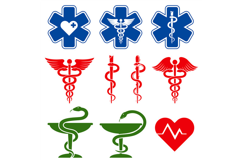 international-medical-pharmacy-and-emergency-care-vector-symbols