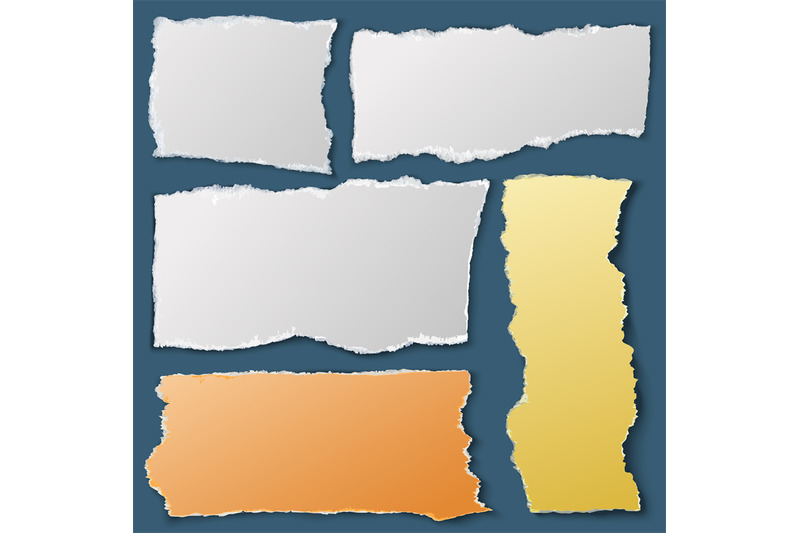 white-torn-paper-pieces-ripped-notebook-papers-scrap-material-vector