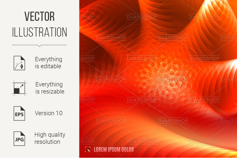 abstract-red-and-orange-fractal-background