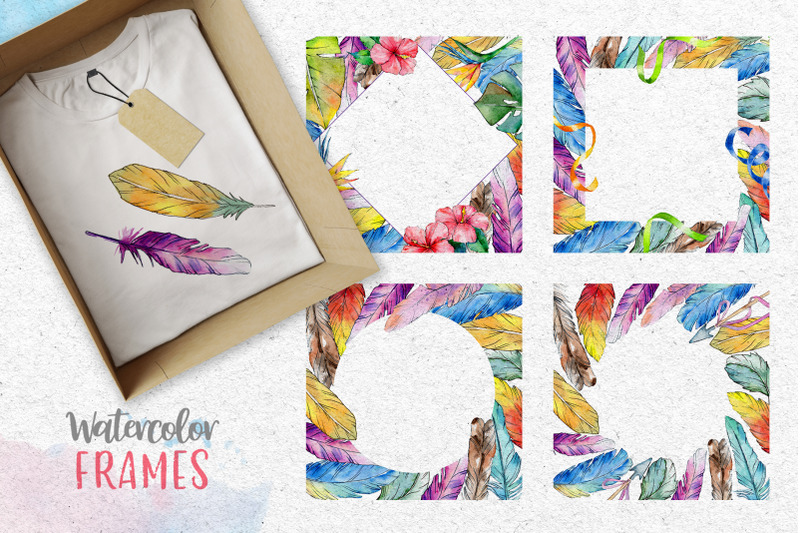 arrows-and-feathers-watercolor-png