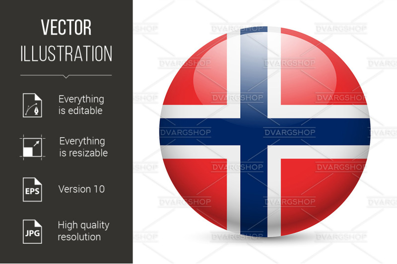 round-glossy-icon-of-norway