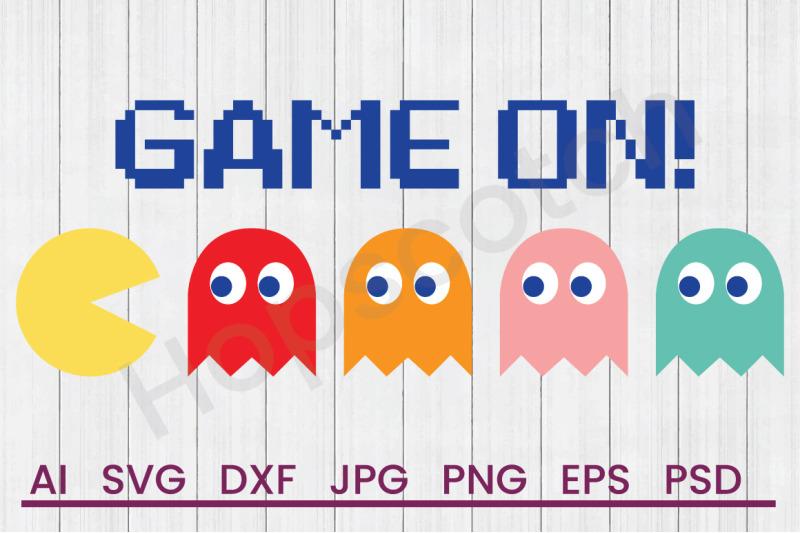 pac-man-game-on-svg-file-dxf-file