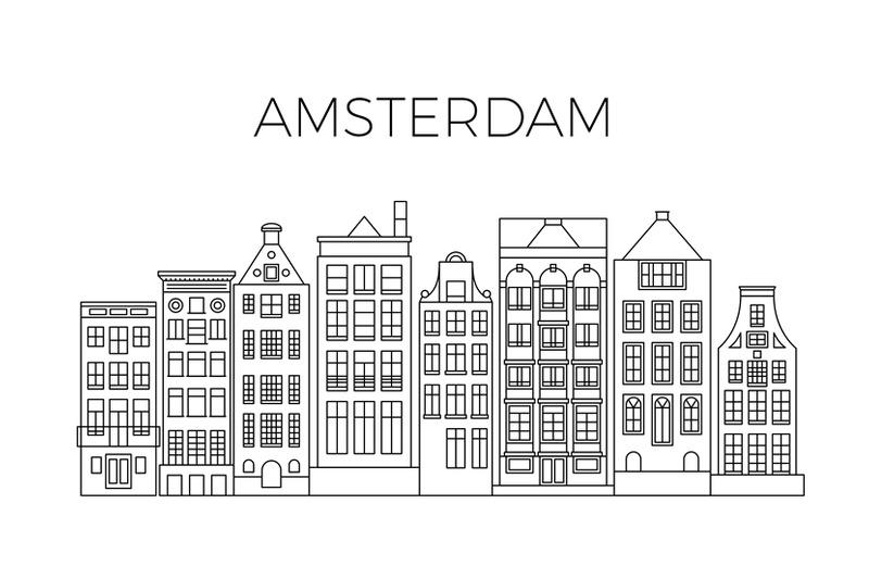 amsterdam-houses-city-panorama-dutch-street-buildings-vector-skyline
