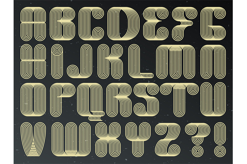 futuristic-technology-vector-font-striped-typeset-letters