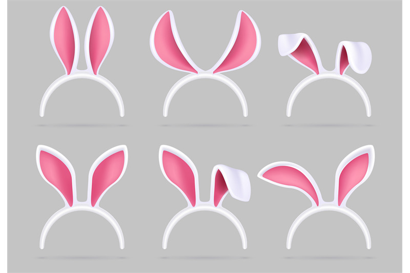 bunny-ears-mask-easter-rabbit-costume-photo-booth-isolated-vector-set