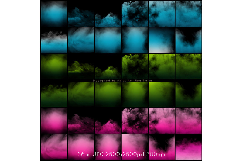 colorful-fog-overlays-package